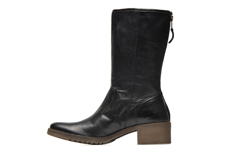 Bottines et boots Kickers Milanaise Noir vue face