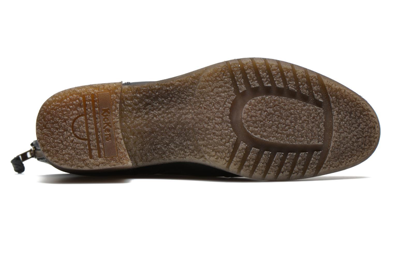 Bottines et boots Kickers Milanaise Noir vue haut
