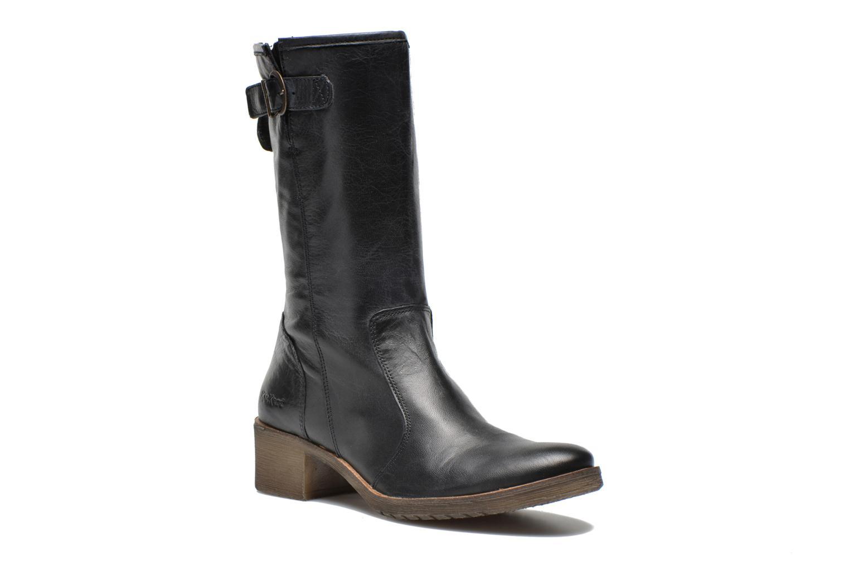 Bottines et boots Kickers Milanaise Noir vue détail/paire