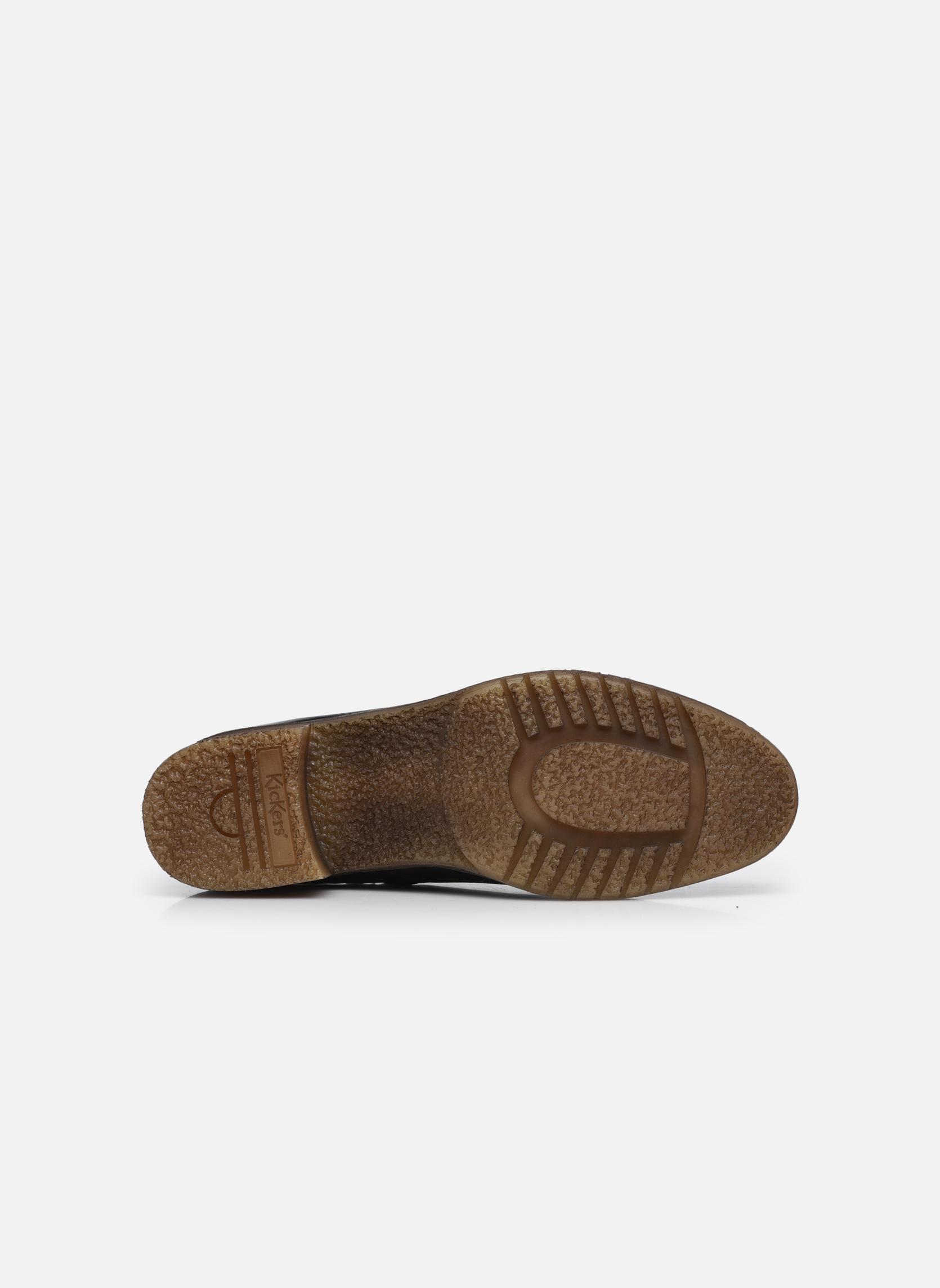Bottines et boots Kickers Mila Noir vue haut