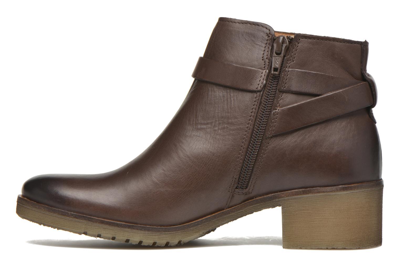 Boots en enkellaarsjes Kickers Mila Bruin voorkant