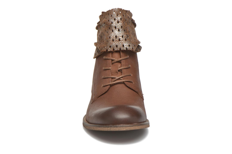 Ankelstøvler Kickers Punkyzip Brun se skoene på