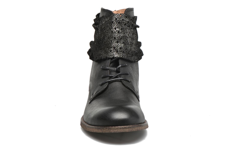 Ankelstøvler Kickers Punkyzip Sort se skoene på