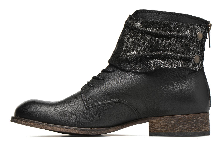 Bottines et boots Kickers Punkyzip Noir vue face