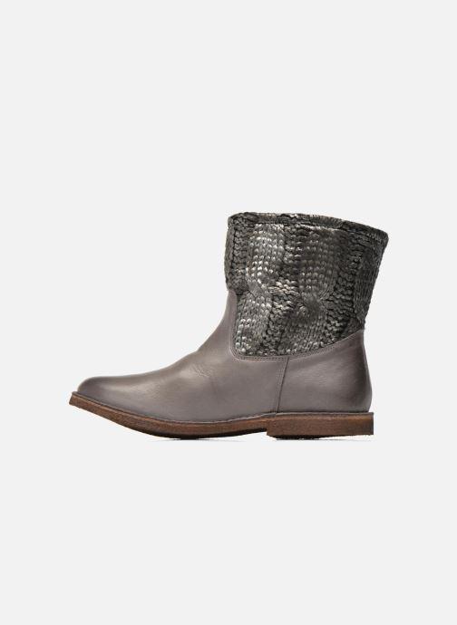 Boots en enkellaarsjes Kickers cresson Grijs voorkant