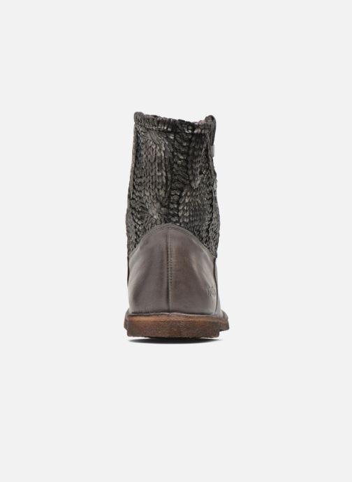 Boots en enkellaarsjes Kickers cresson Grijs rechts