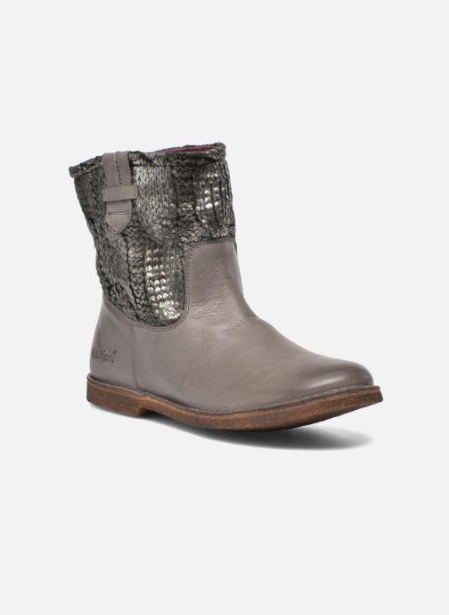 Boots en enkellaarsjes Kickers cresson Grijs detail