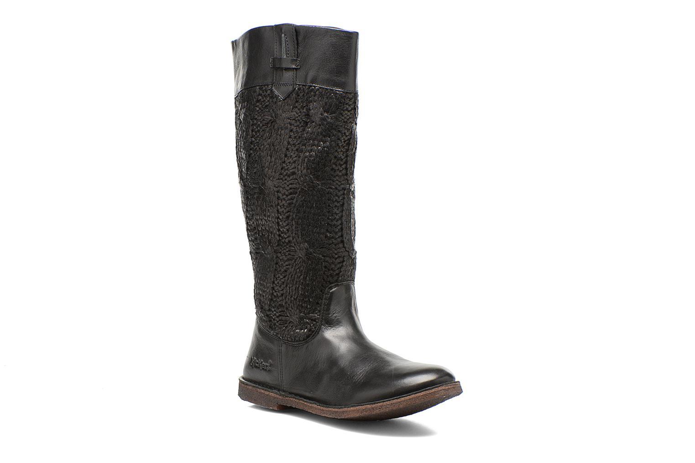 Støvler & gummistøvler Kickers Cresus Sort detaljeret billede af skoene