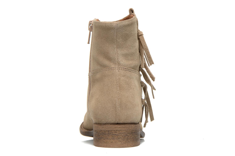 Bottines et boots Yep Callie Gris vue droite