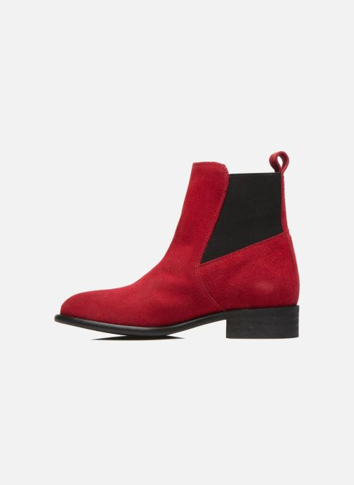 Ankle boots Yep Cannelle Red front view