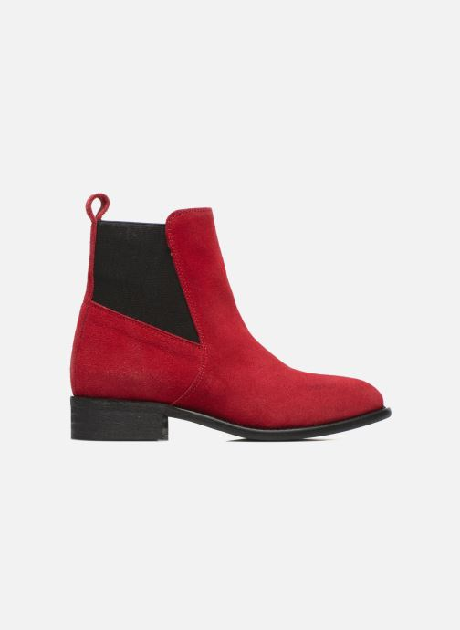 Ankle boots Yep Cannelle Red back view