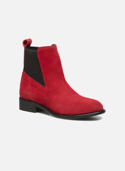 Ankle boots Yep Cannelle Red detailed view/ Pair view