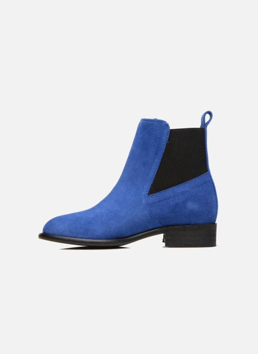 Ankle boots Yep Cannelle Blue front view