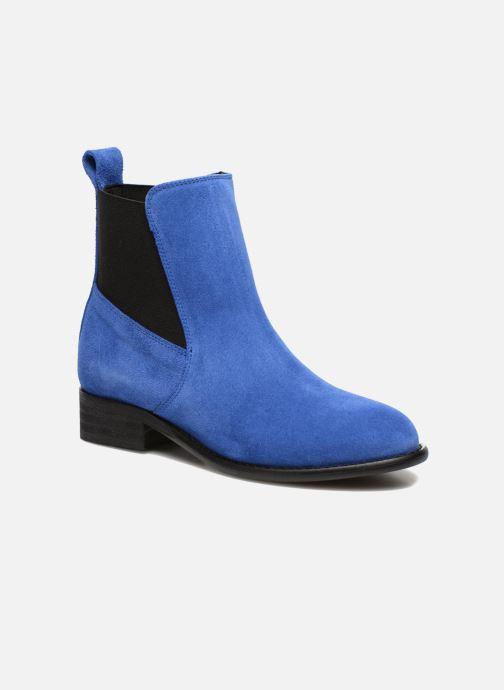 Boots en enkellaarsjes Yep Cannelle Blauw detail
