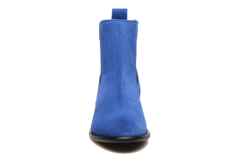 Bottines et boots Yep Cannelle Bleu vue portées chaussures