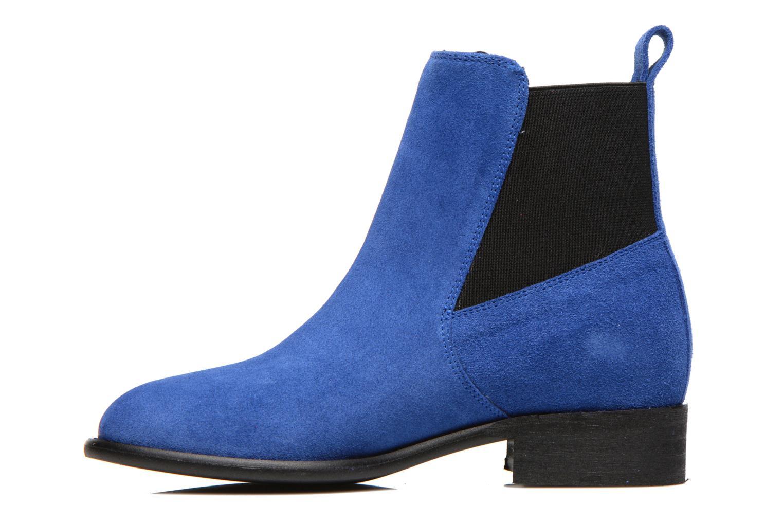 Bottines et boots Yep Cannelle Bleu vue face