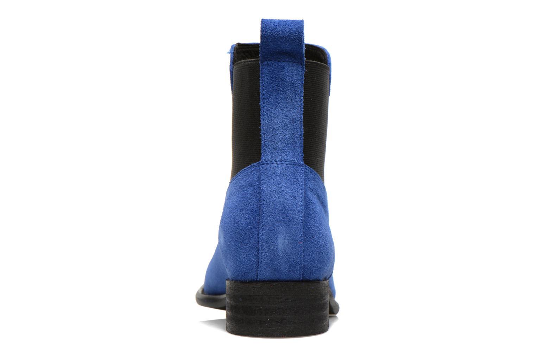 Bottines et boots Yep Cannelle Bleu vue droite