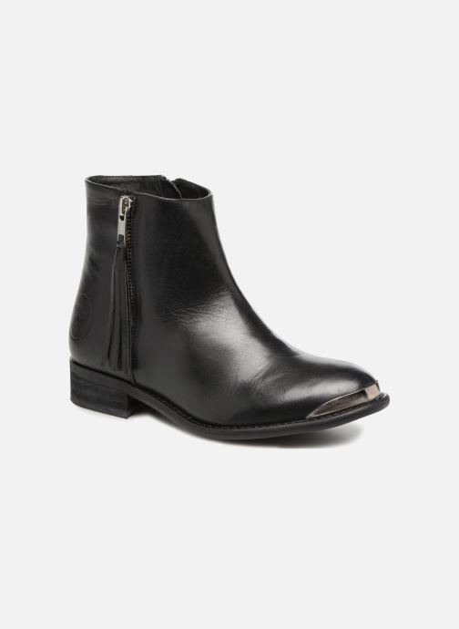 Ankle boots Yep Amelia Black detailed view/ Pair view