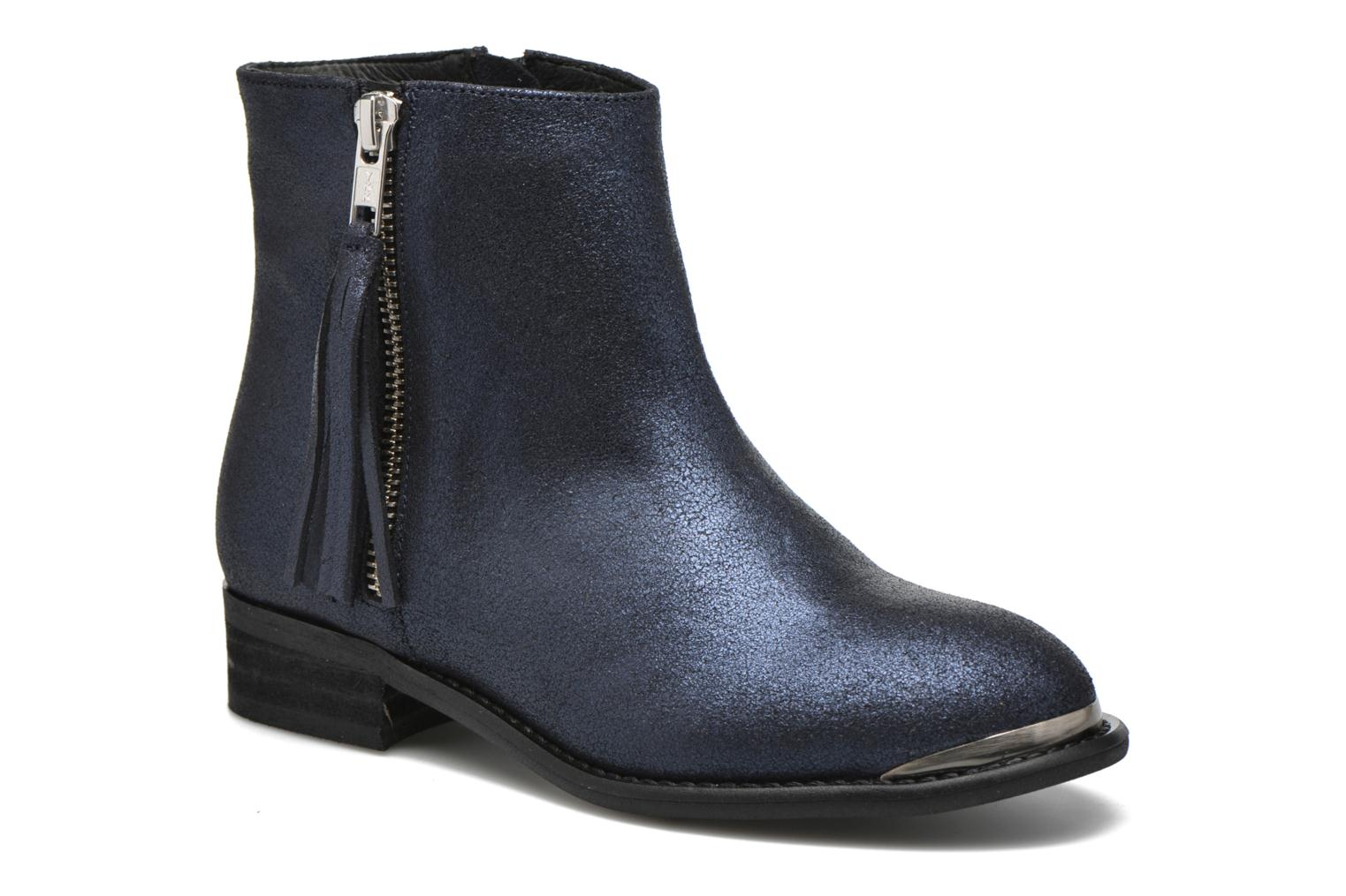 Ankle boots Yep Amelia Blue detailed view/ Pair view