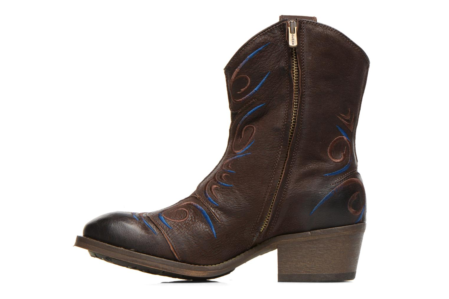 Ankle boots Dkode Jonas Brown front view