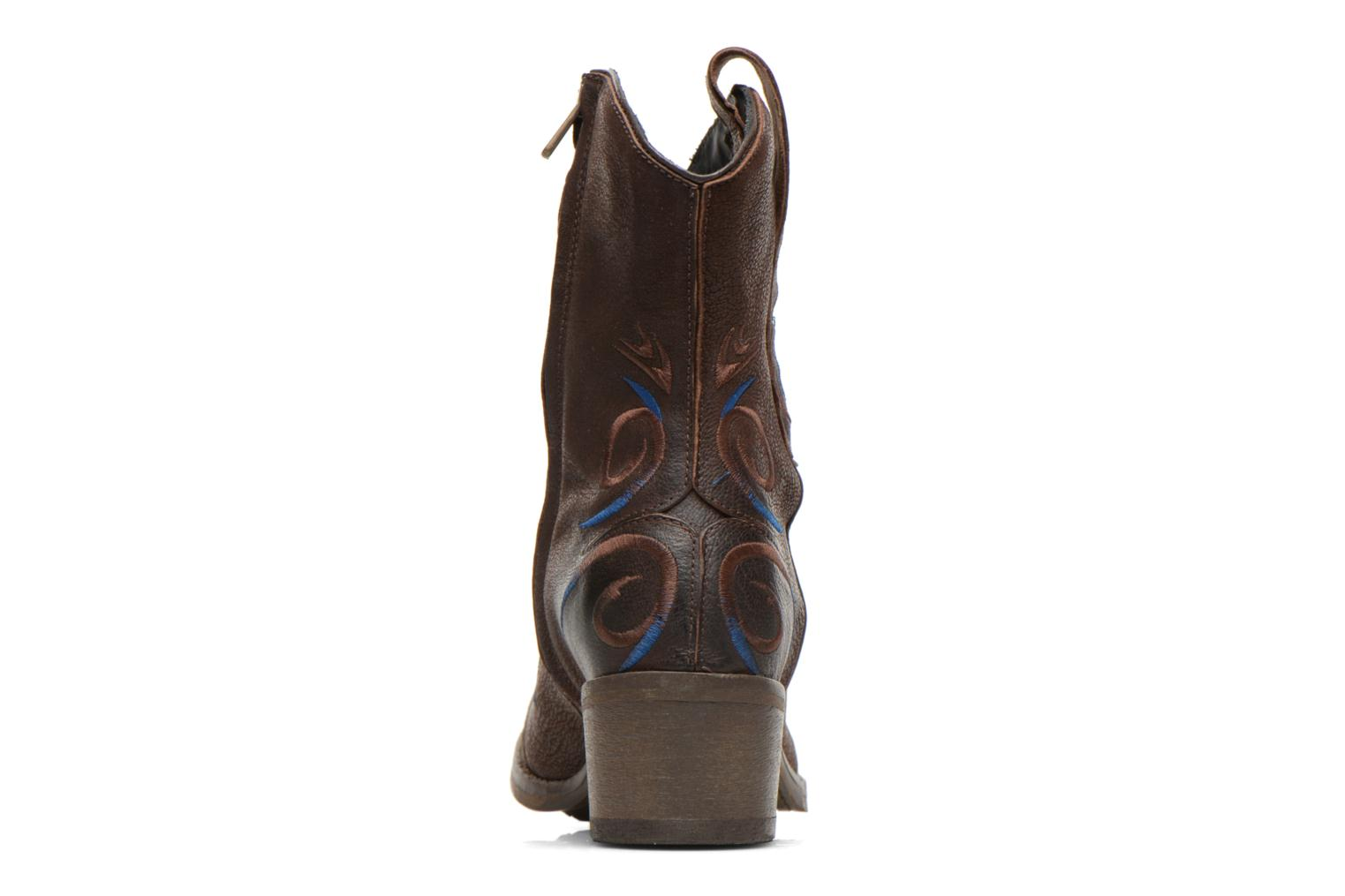 Ankle boots Dkode Jonas Brown view from the right