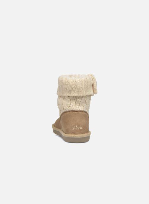Bottines et boots Chicco Charme Beige vue droite