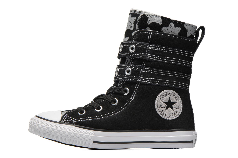 Bottines et boots Converse Chuck Taylor Bb Animal Glendale X-Hi Noir vue face
