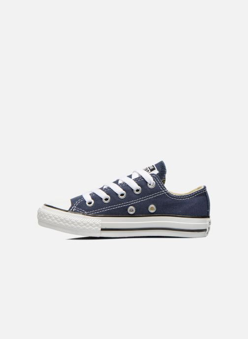 Sneaker Converse Chuck Taylor All Star Core Ox blau ansicht von vorne
