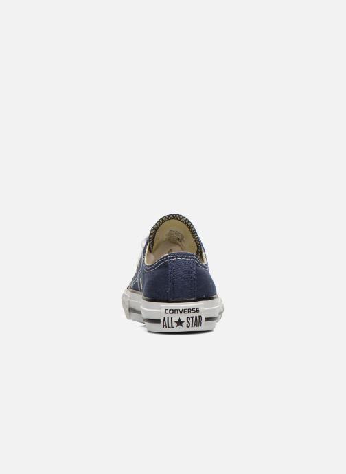Sneaker Converse Chuck Taylor All Star Core Ox blau ansicht von rechts
