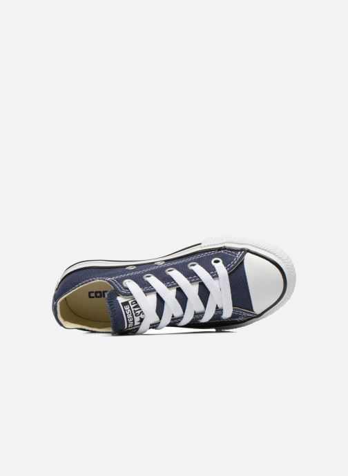 Baskets Converse Chuck Taylor All Star Core Ox Bleu vue gauche