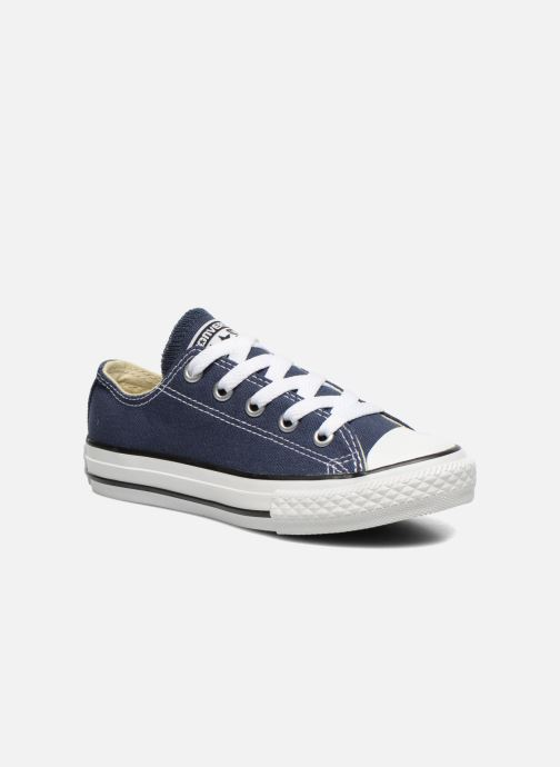 Baskets Converse Chuck Taylor All Star Core Ox Bleu vue détail/paire