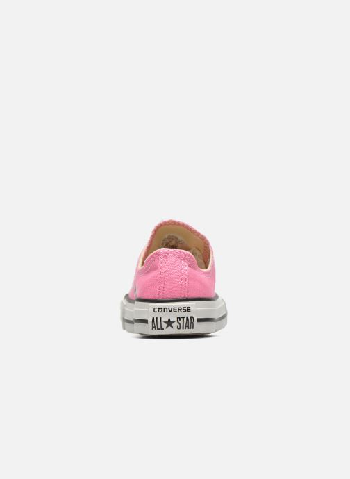 Trainers Converse Chuck Taylor All Star Core Ox Pink view from the right