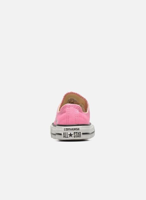 Baskets Converse Chuck Taylor All Star Core Ox Rose vue droite