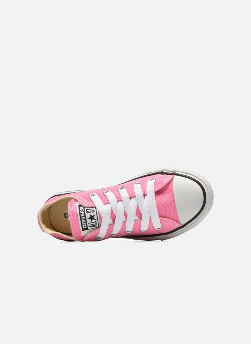 Trainers Converse Chuck Taylor All Star Core Ox Pink view from the left