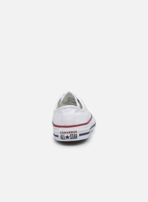 Trainers Converse Chuck Taylor All Star Core Ox White view from the right