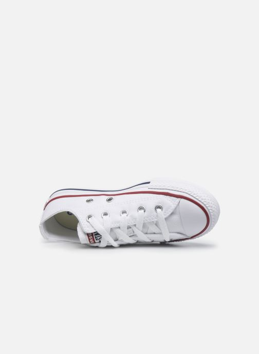 Sneaker Converse Chuck Taylor All Star Core Ox weiß ansicht von links