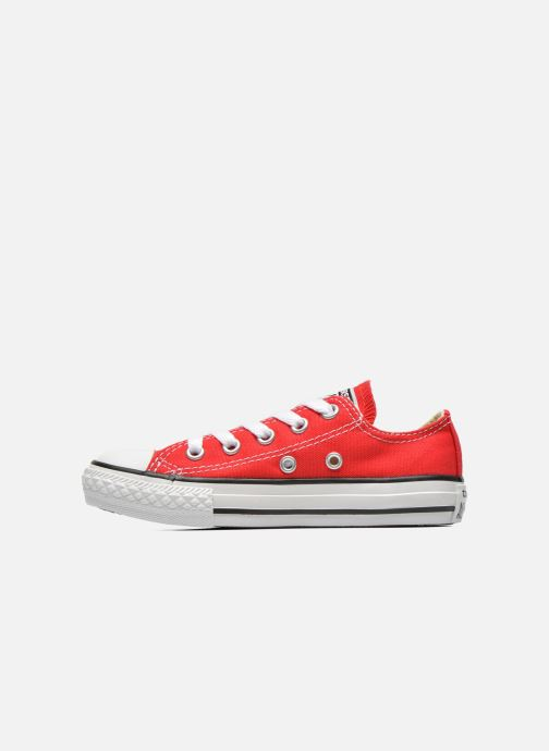 Sneakers Converse Chuck Taylor All Star Core Ox Rosso immagine frontale