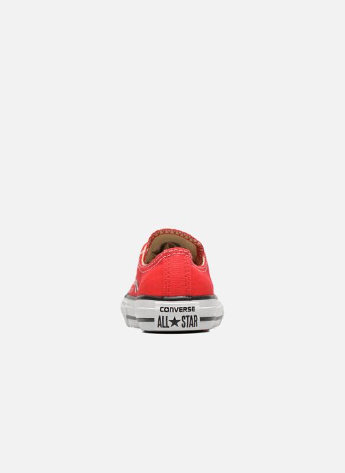 Trainers Converse Chuck Taylor All Star Core Ox Red view from the right