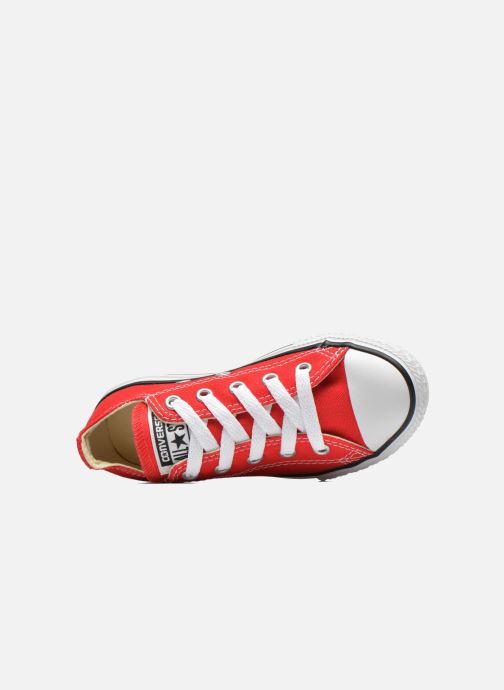 Sneaker Converse Chuck Taylor All Star Core Ox rot ansicht von links