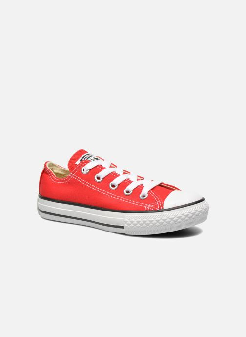 Sneakers Converse Chuck Taylor All Star Core Ox Röd detaljerad bild på paret