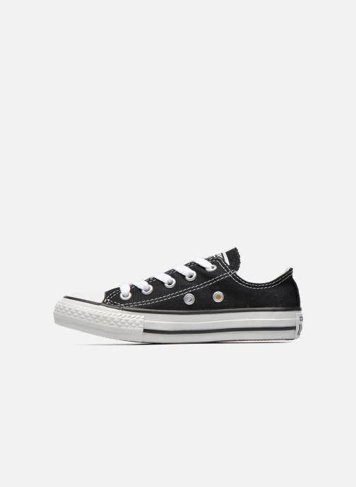 Sneaker Converse Chuck Taylor All Star Core Ox schwarz ansicht von vorne