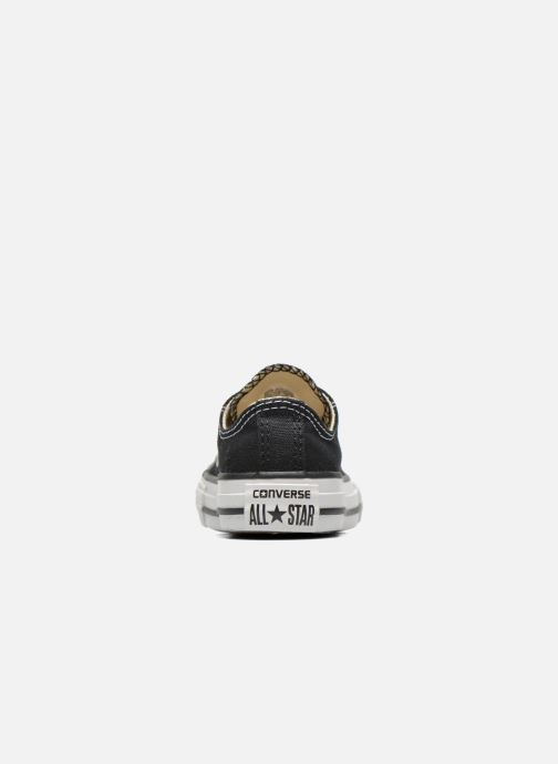 Sneaker Converse Chuck Taylor All Star Core Ox schwarz ansicht von rechts