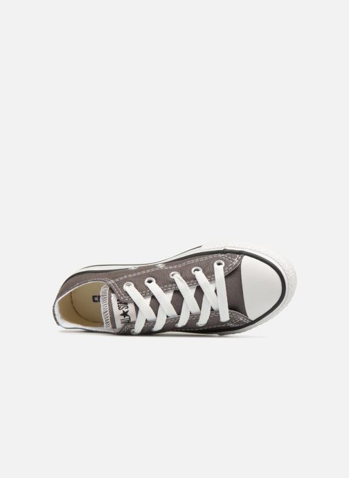 Trainers Converse Chuck Taylor All Star Core Ox Grey view from the left