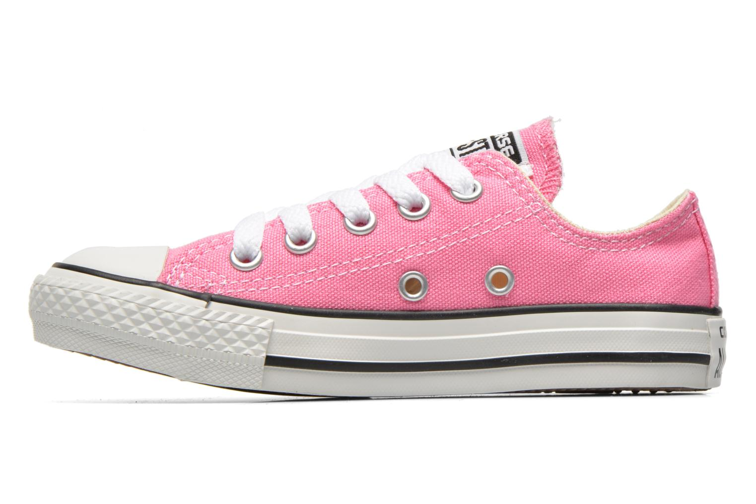 Sneakers Converse Chuck Taylor All Star Core Ox Rosa immagine frontale