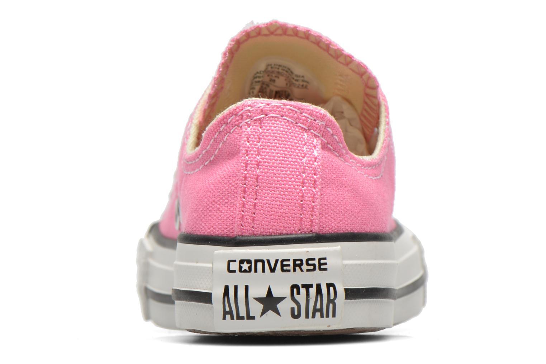 Sneakers Converse Chuck Taylor All Star Core Ox Rosa immagine destra