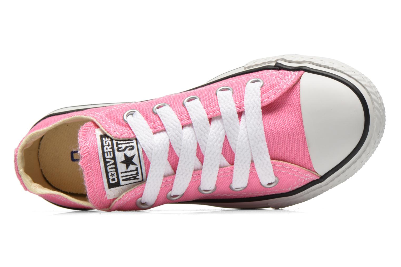 Sneakers Converse Chuck Taylor All Star Core Ox Rosa immagine sinistra