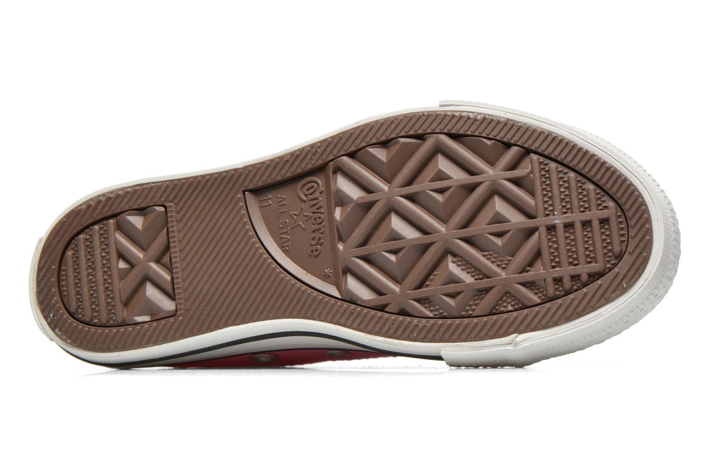 Sneakers Converse Chuck Taylor All Star Core Ox Rosa immagine dall'alto