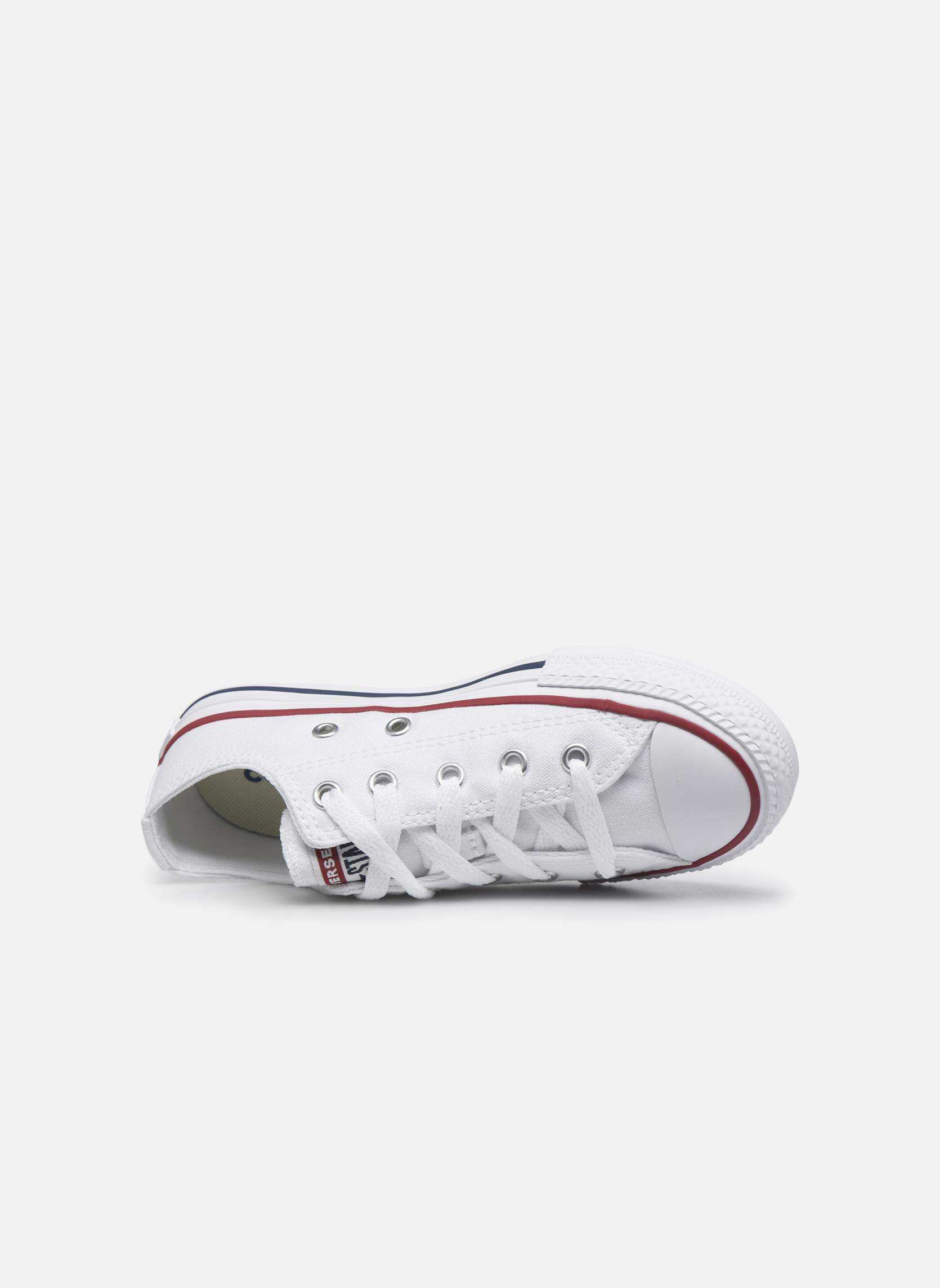 Deportivas Converse Chuck Taylor All Star Core Ox Blanco vista lateral izquierda