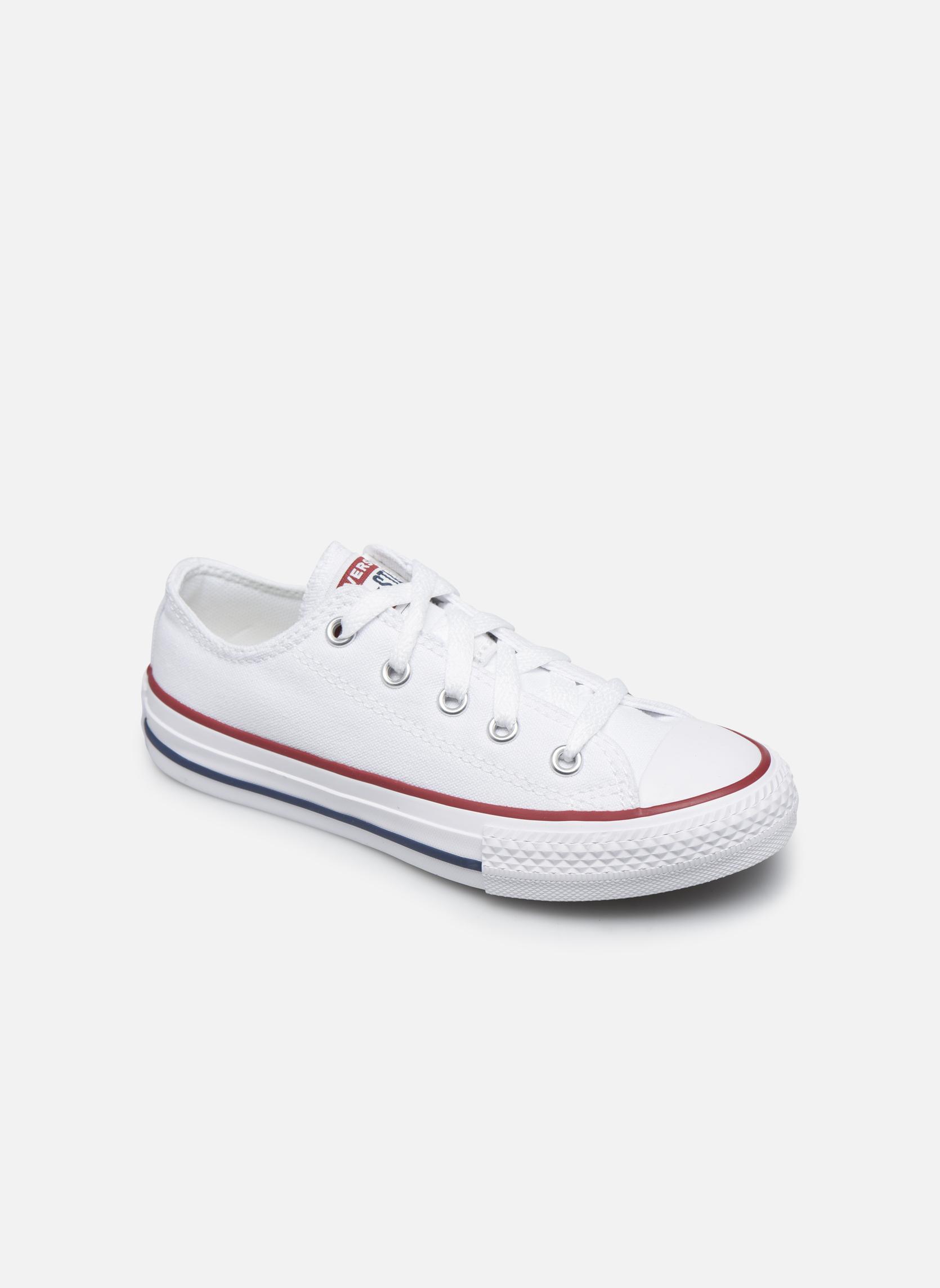 Sneakers Converse Chuck Taylor All Star Core Ox Hvid detaljeret billede af skoene