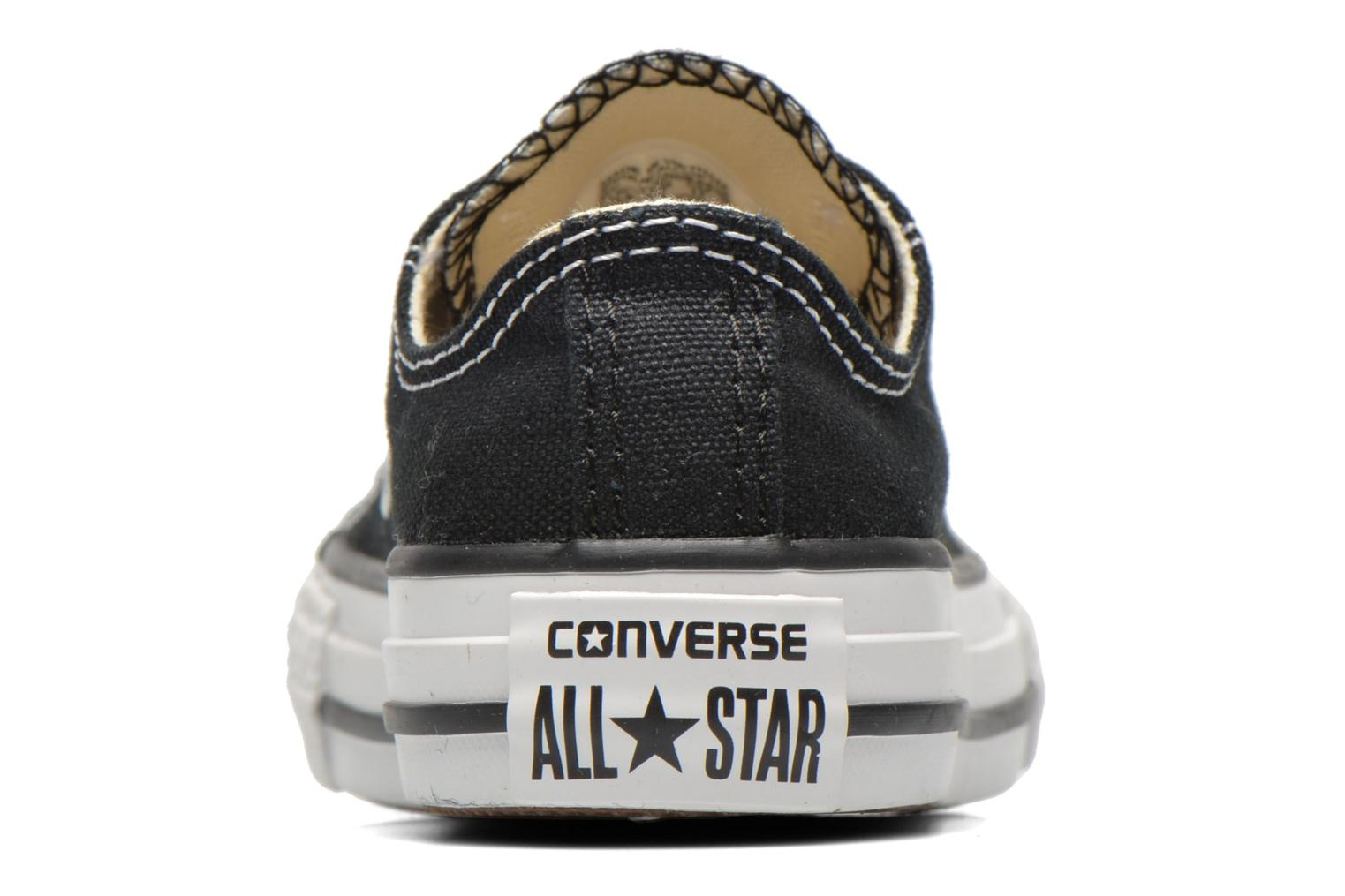 Trainers Converse Chuck Taylor All Star Core Ox Black view from the right